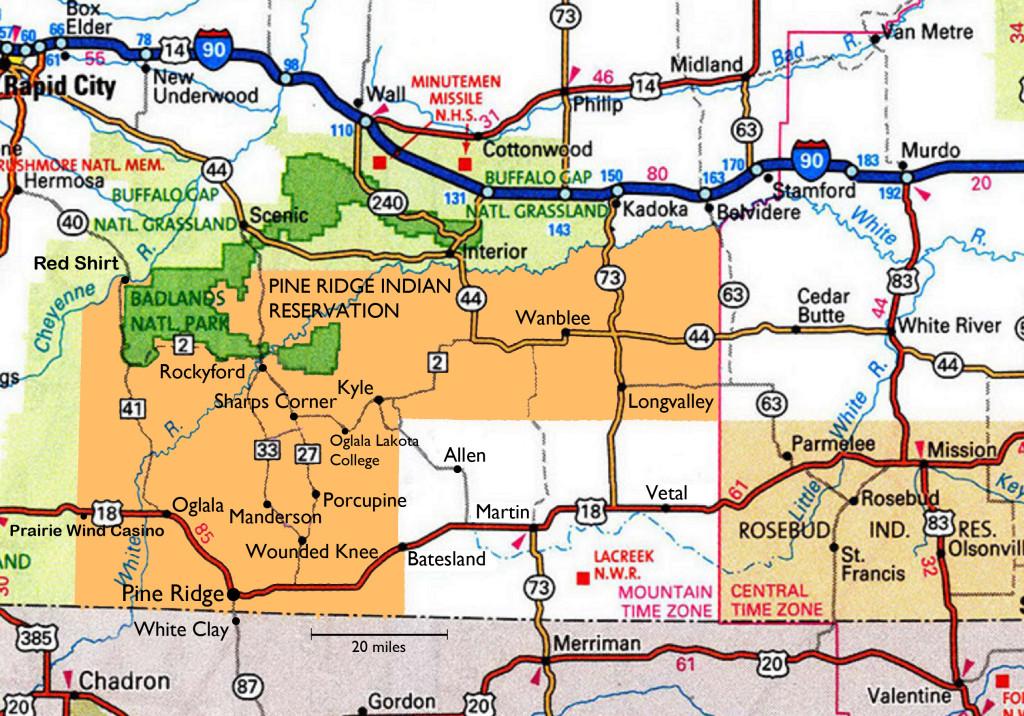 Pine Ridge Map peach 2